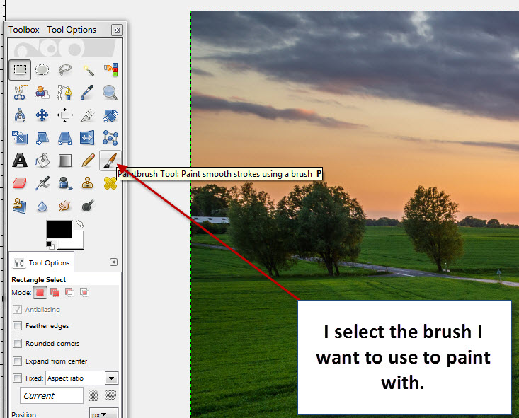 how to create a pixel using gimp