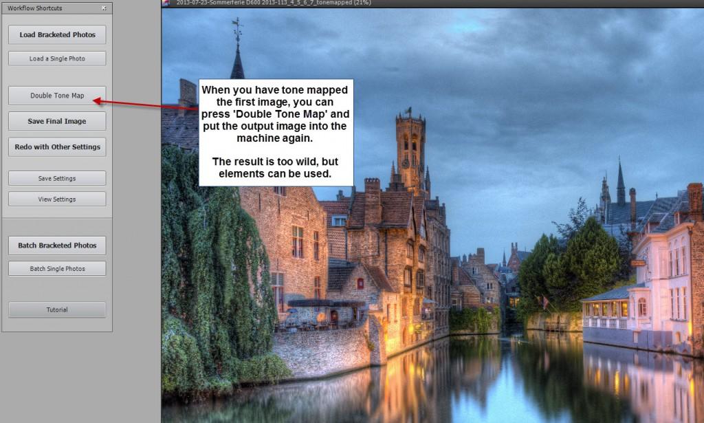 Bruges double tonemap