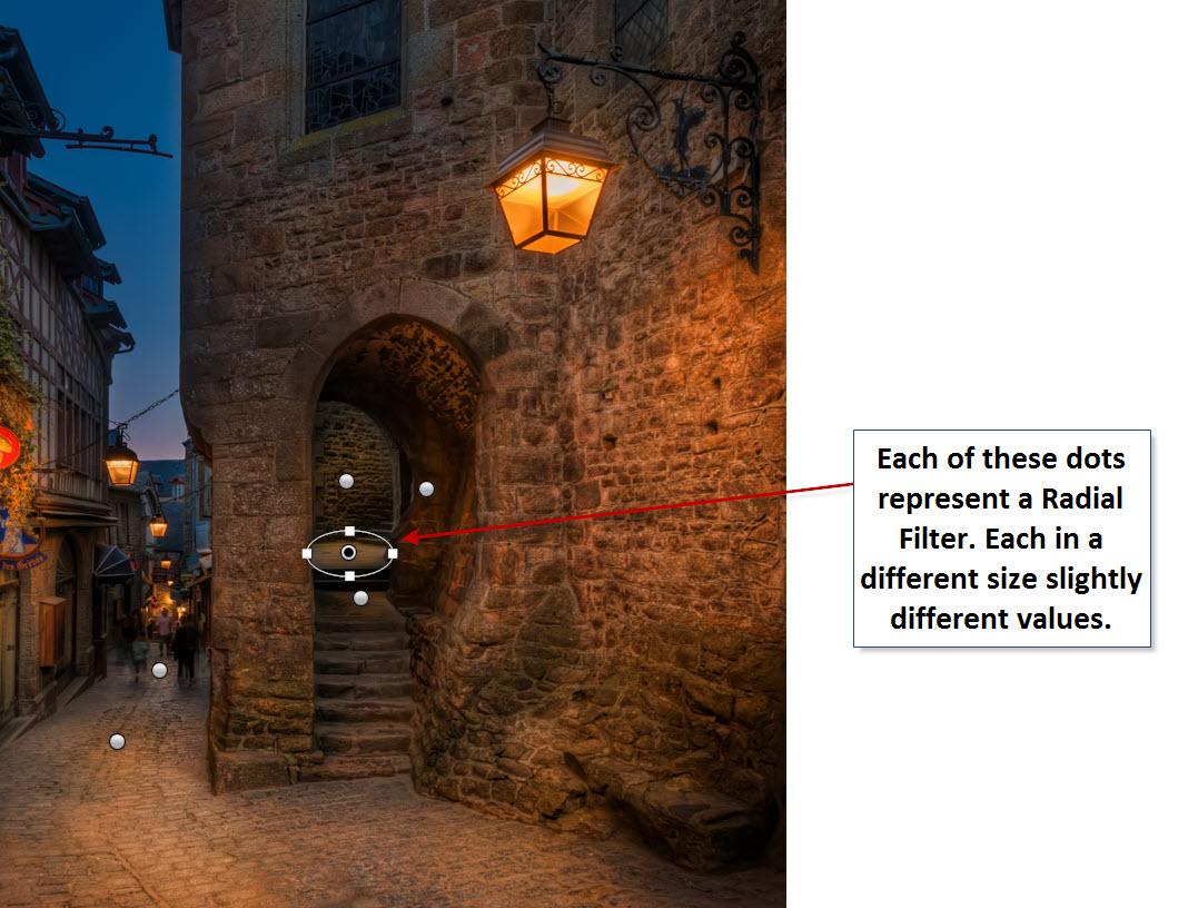 Mont-Saint-Michel-Light-up-Radial-Light-Locations
