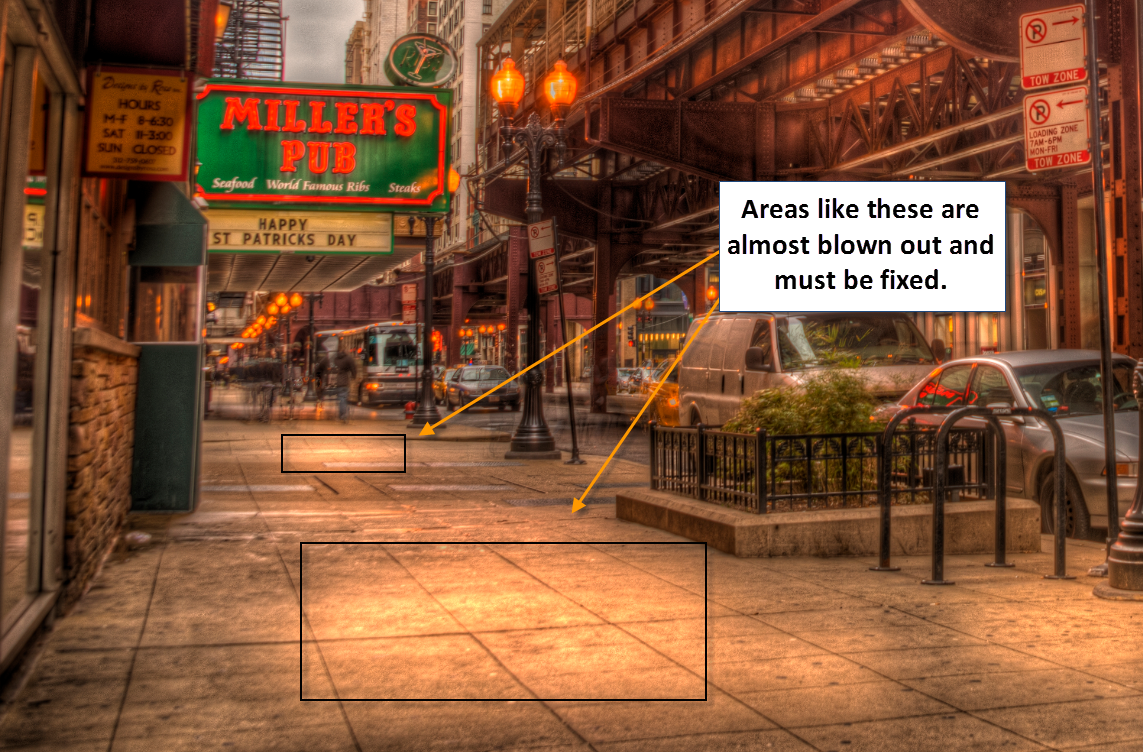 Chicago - Tonemapped image bugs