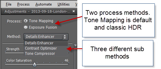 Step 04 - Tone mapping methods