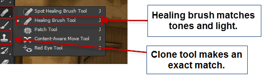 Chateau Queyras - clone away - tools
