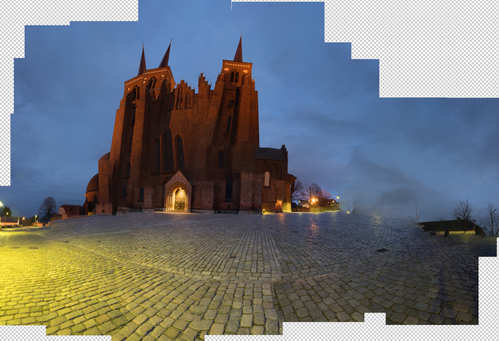 Roskilde Cathedral Photoshop
