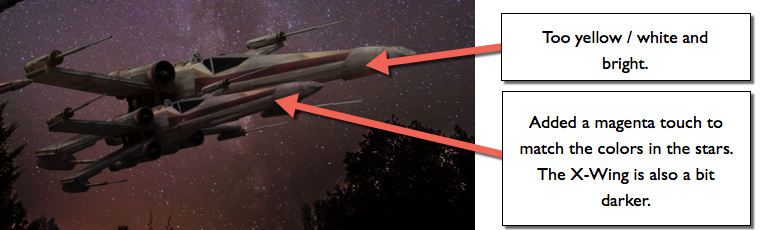 X-Wing colors