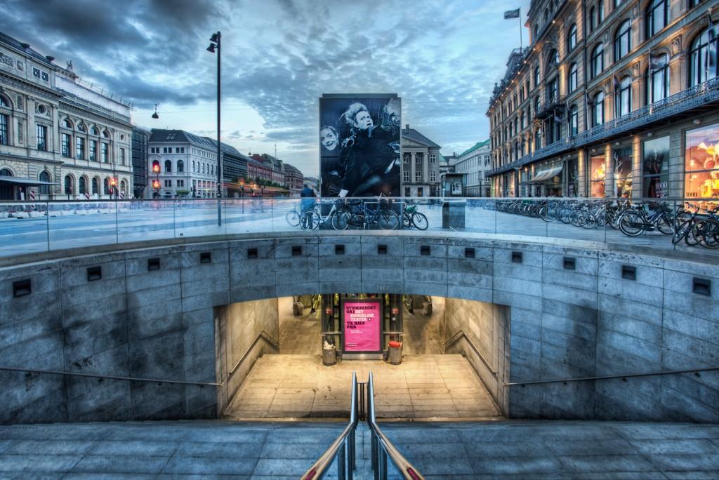 Denmark - Kings square metro