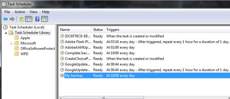 Step 10 - How to setup backup schedule