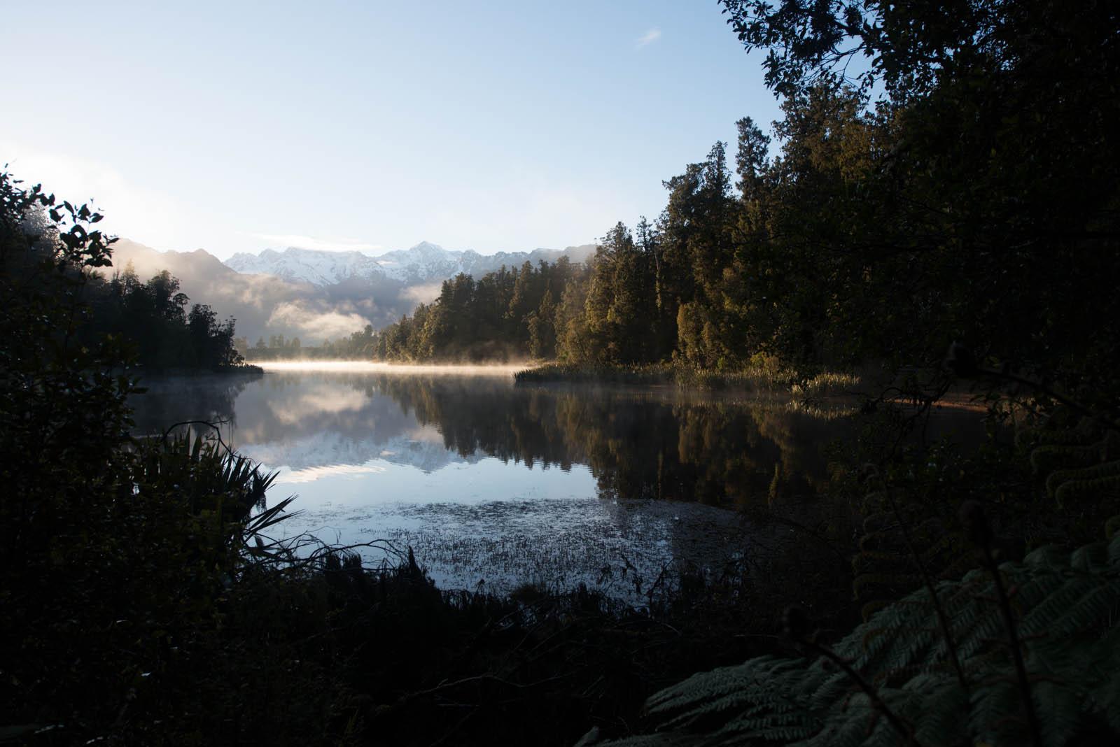 New Zealand - Lake Matheson at Sunrise - original