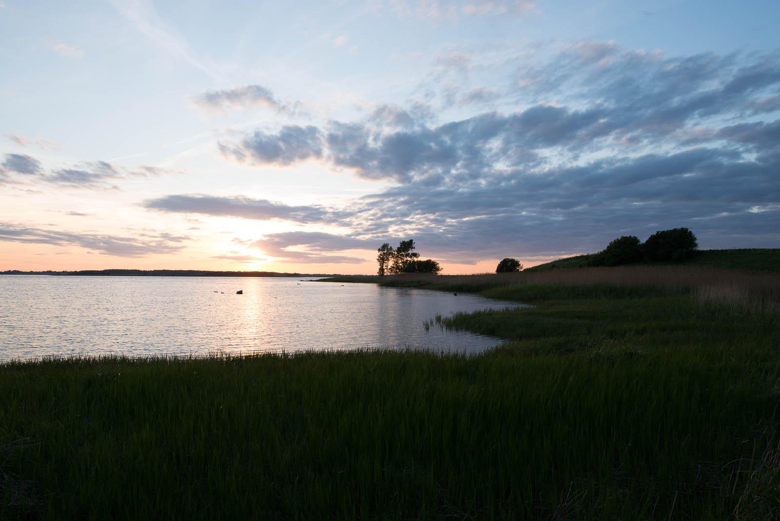 Original photo of Sunset at Salvad Parken