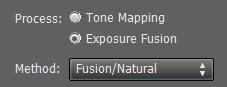Exposure Fusion - Fusion Natural