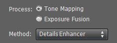Tone mapping - details enhancer