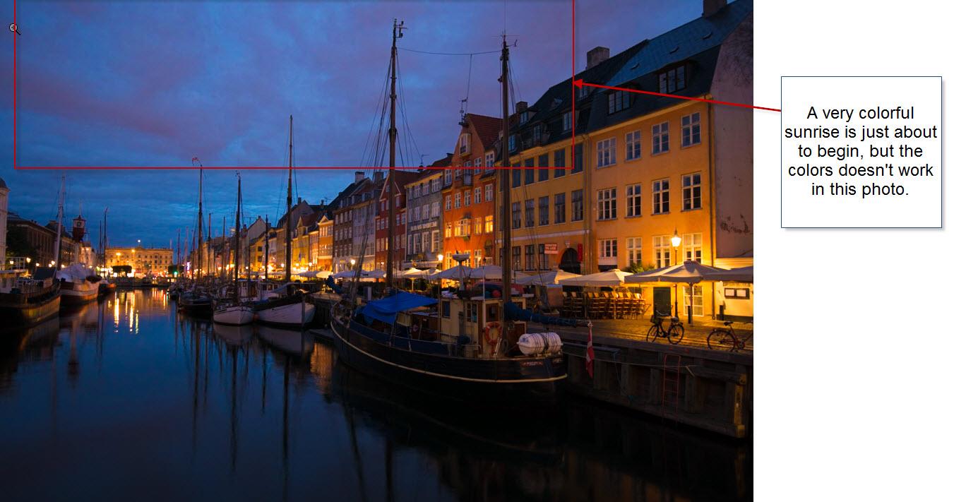 Denmark - Nyhavn before