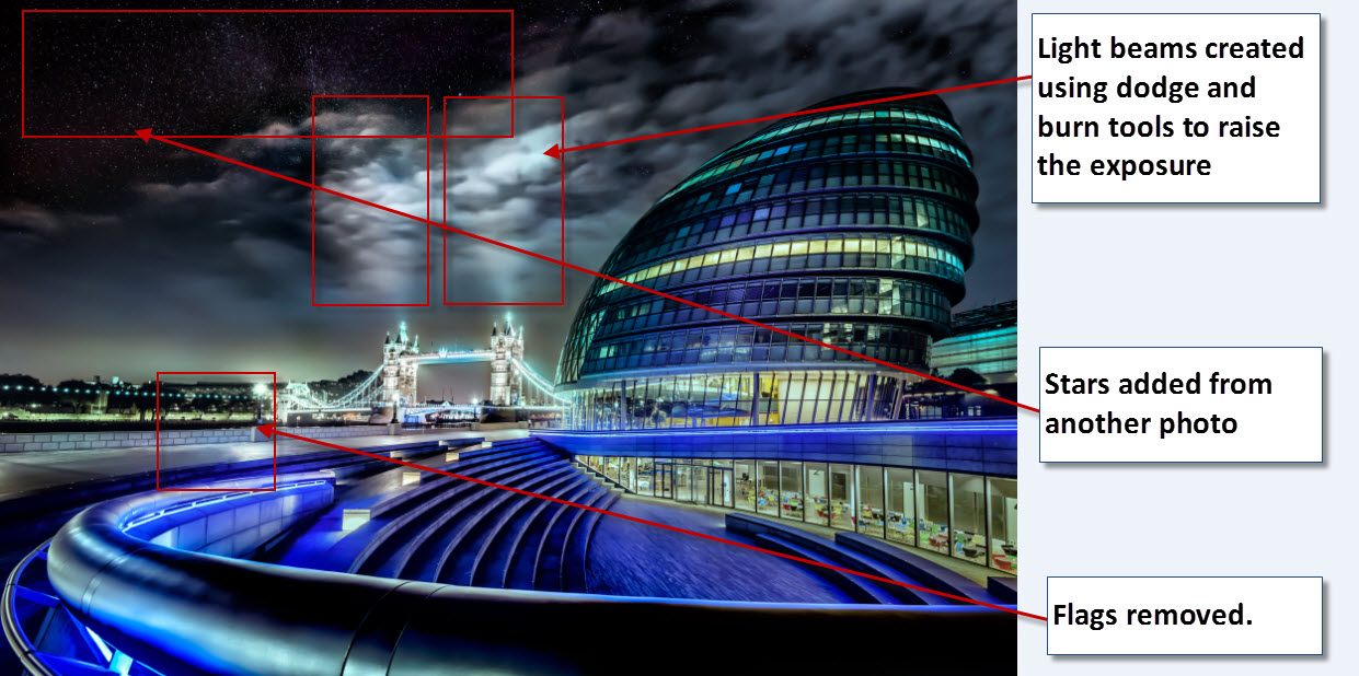 UK - City hall and london tower bridge