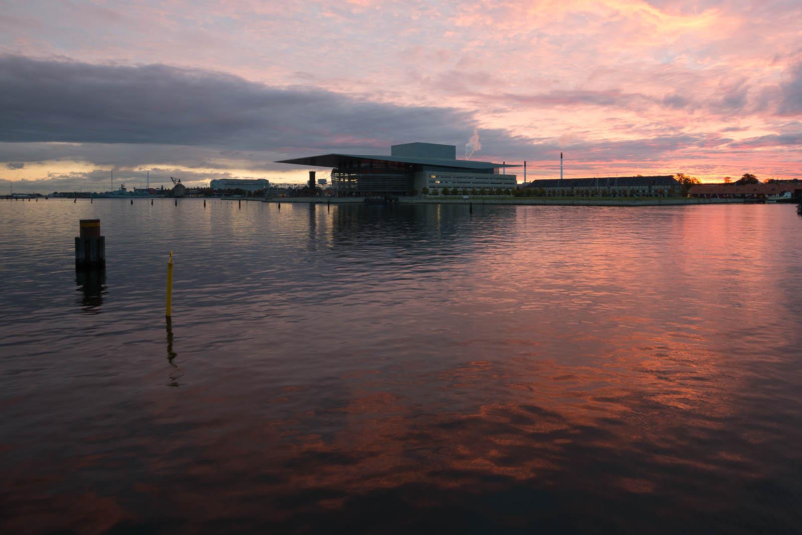 Copenhagen Opera House before