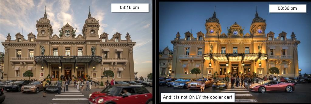 Monaco - timing
