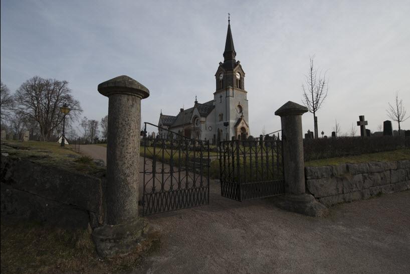 A swedish church - before photo