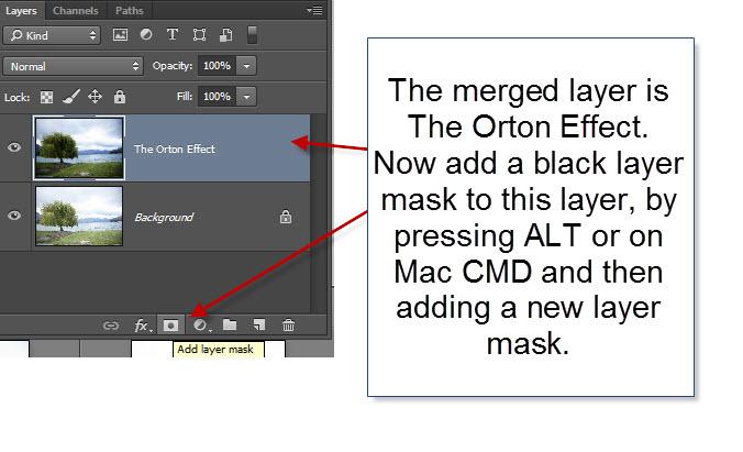 Step 7 - Add a layer mask