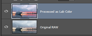 Lab color processing step 6 - Merged