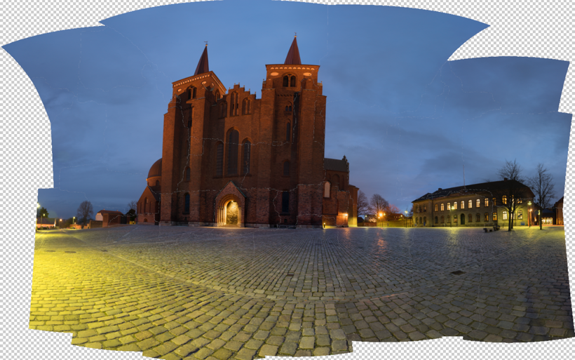 Roskilde Cathedral Photoshop Stitch