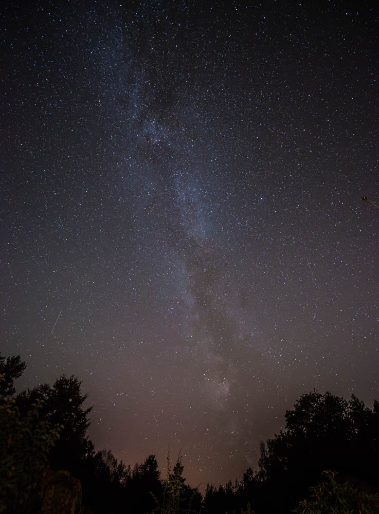 The Milky Way in Karlskrona